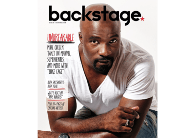 Mike Colter - Backstage Magazine Cover