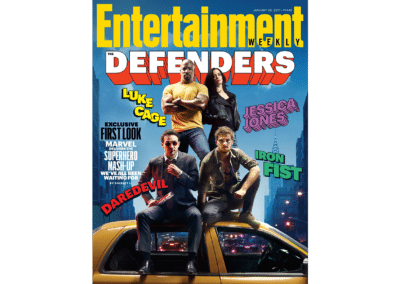 The Defenders - Entertainment Weekly Cover