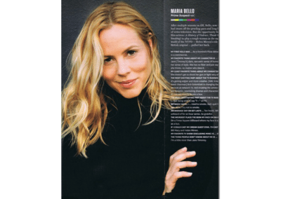 Maria Bello - Hollywood Reporter