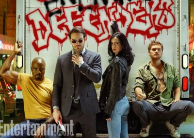 The Defenders - Entertainment Weekly Article
