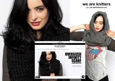 Krysten Ritter - We Are Knitters Collaboration