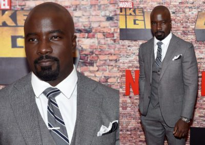 Mike Colter - Luke Cage Premiere 2017