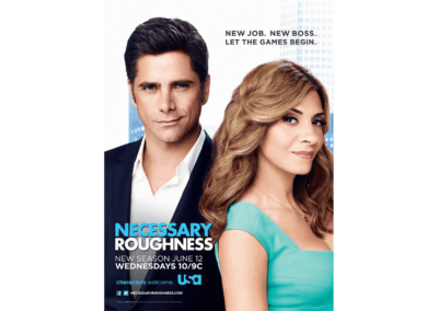 John Stamos/Callie Thorne - Necessary Roughness (Season 3)
